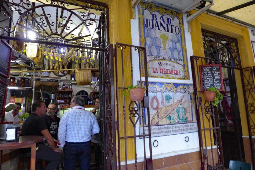 Tapas-Bar Juanito Sanlucar de Barrameda
