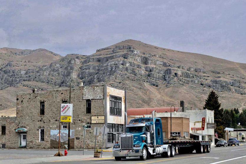 Der rätselhafte Numbers Hill von Arco Idaho