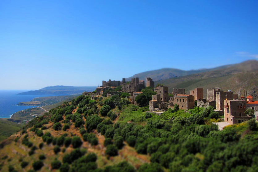 Vathia Tower homes Mani, Peloponnese