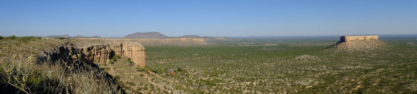 Vingerklip Lodge im Tal der Ugab-Terrassen Namibia