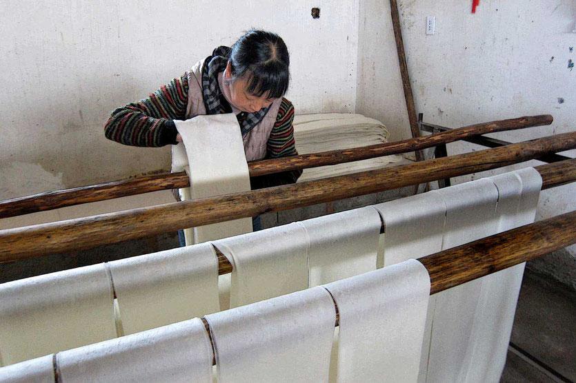 Herstellung Käsesnack Rushan Dali China
