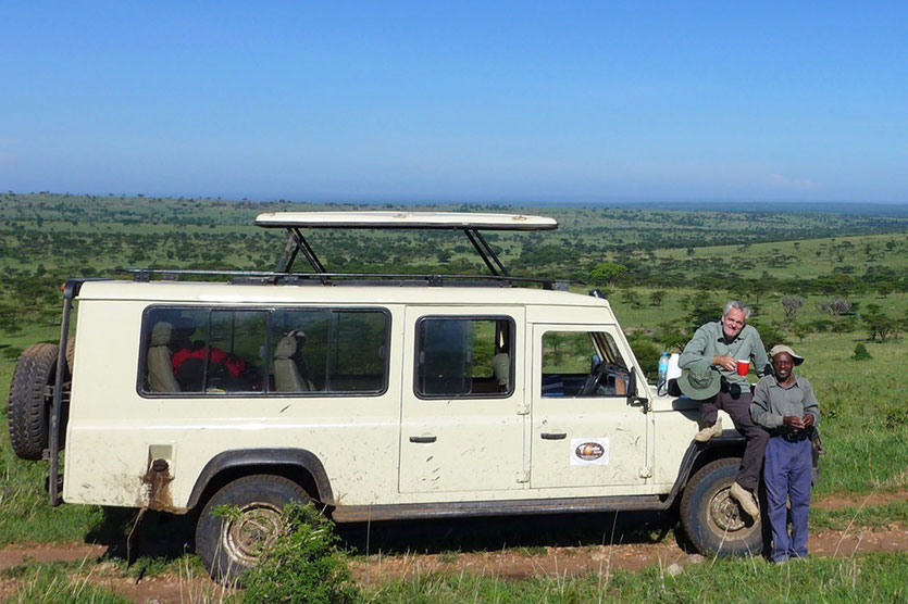 Safari mit Driver-Guide Serengeti