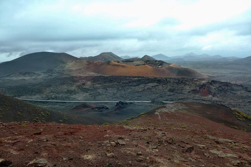 Bustour 'Ruta de los Volcanos' Timanfaya Nationalpark Lanzarote