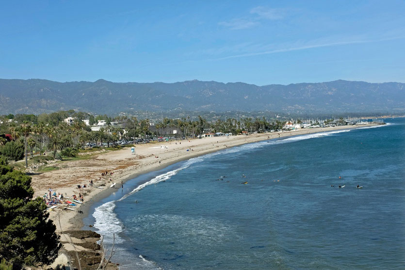 Beach Santa Barbara, California