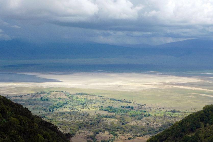 Ngorongoro crater view Krater tanzania
