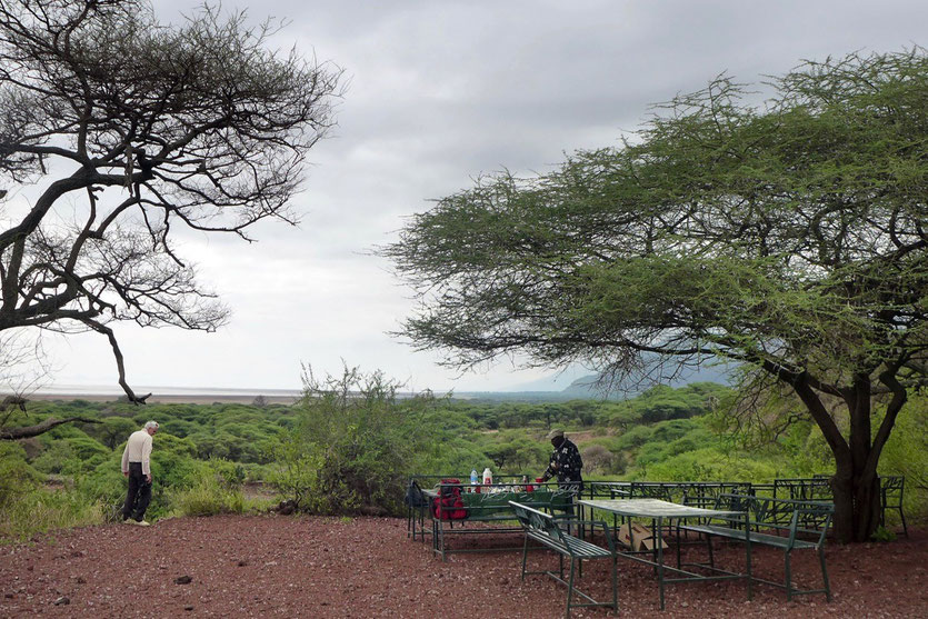 Picinic Site Lake Manyara Nationalpark