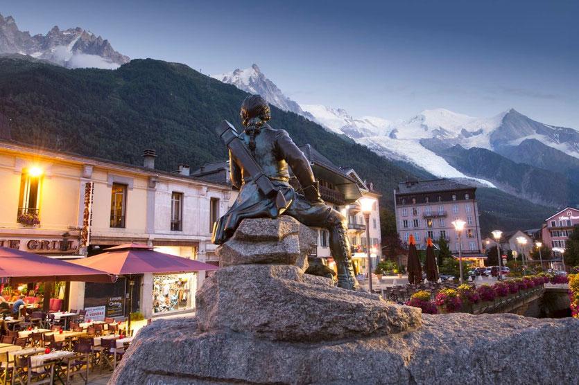 Chamonix town Stadt