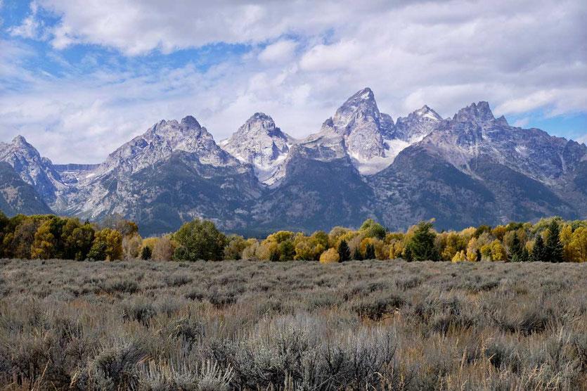 Grand Teton Nationalpark, Wyoming, USA
