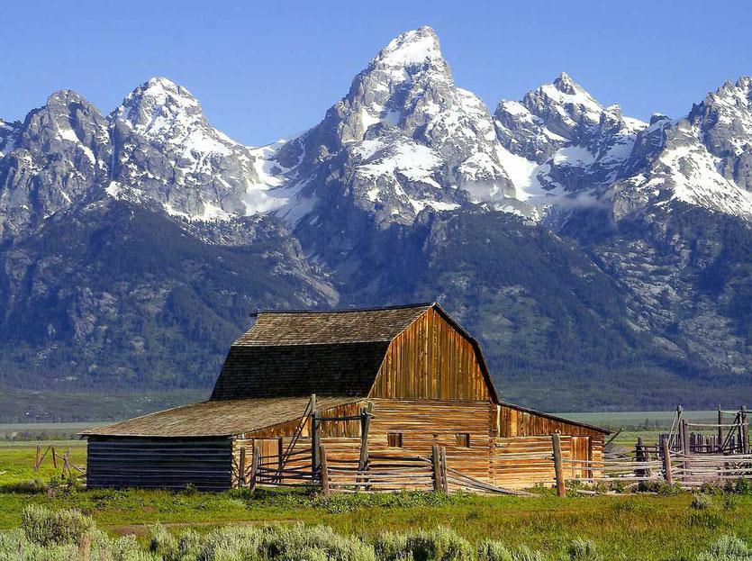 Mormon Row Barn Grand Teton