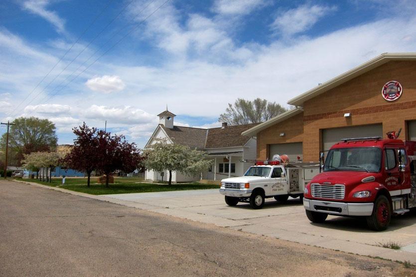 Henriesville am Scenic Highway 12 Road trip USA Südwesten