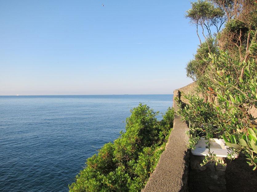 Campingplatz am Meer Cinque Terre Maralunga Ligurien