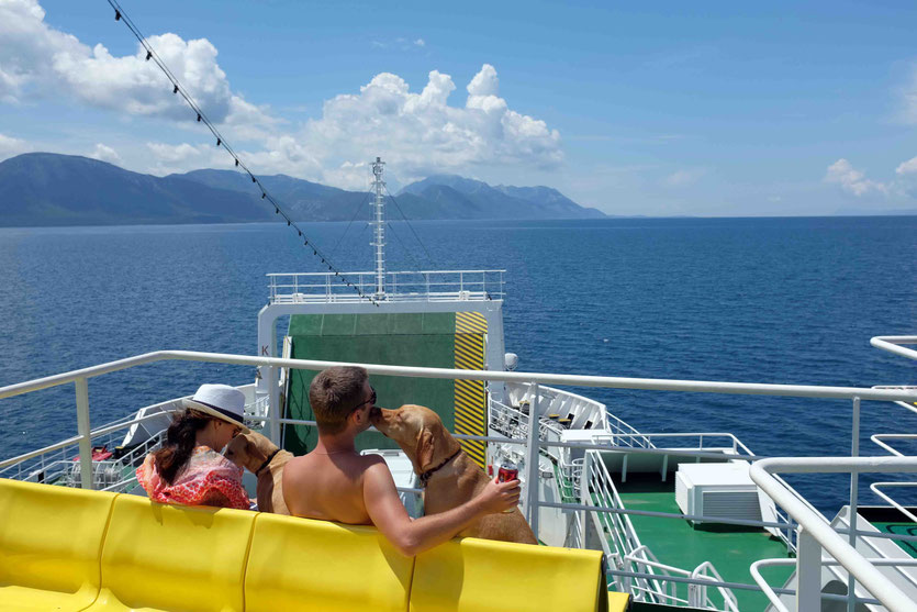 Trpanj Fähre Halbinsel Peljesac