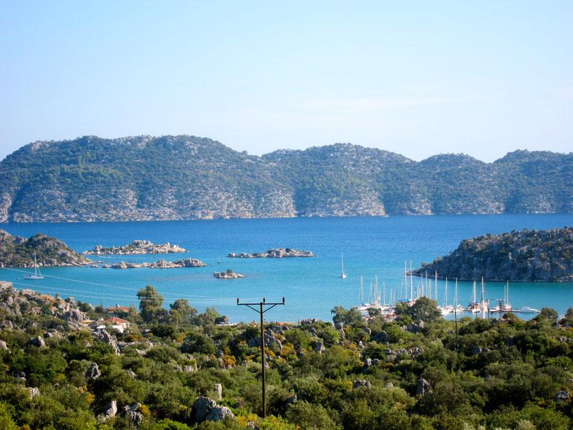 Bucht von KEKOVA, Lykische Küste Türkei