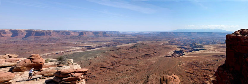 Grand View Point, Island in the Sky Canyonlands USA Südwesten National Parks
