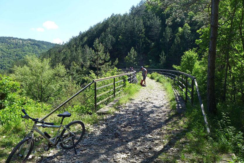 Parenzana schönste Rad-Strecke Istrien