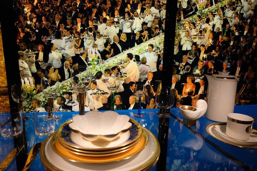 Nobel Gala Dinner, Rathaus Führung Stockholm