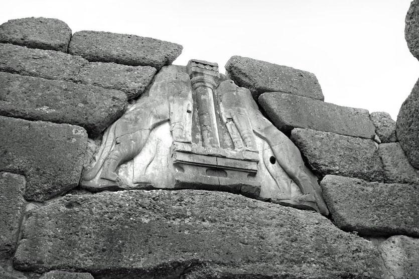 Löwentor von Mykene, Peloponnes