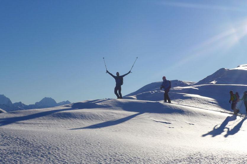 Zwischenstopp: Auf dem langen Rücken des Russelvfjellet