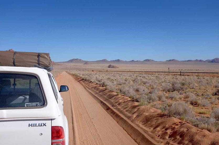 Namibia Camper Reise Namib