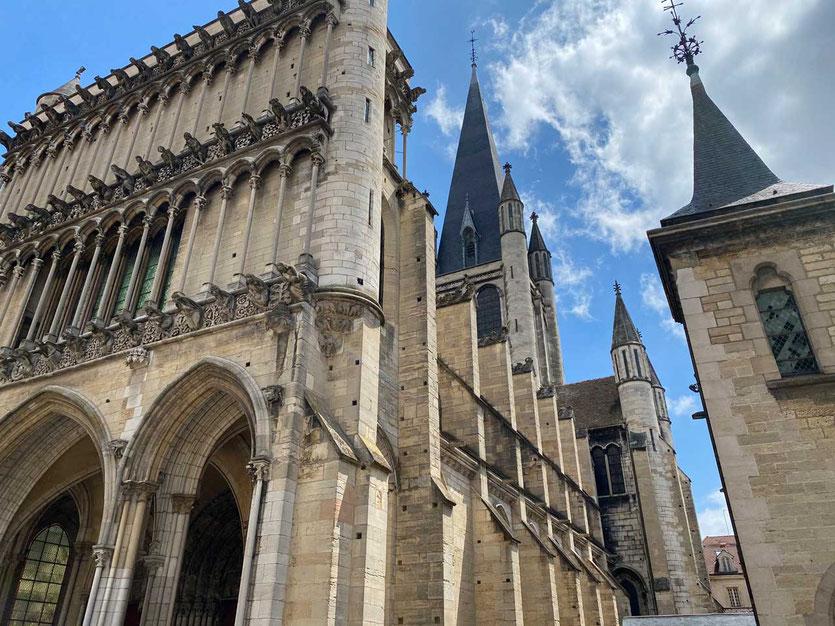 Meisterwerk der Gotik, die Notre Dame von Dijon