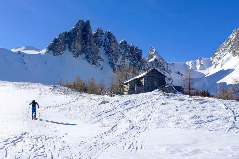 Tipp Skitour Felskarspitze Salzburger Land Lungau