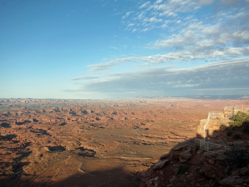 Needles Overlook Canyonlands USA Südwesten Nationalparks