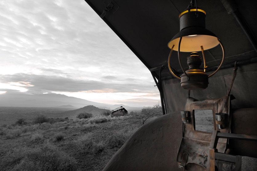 luxury safari tent Shumata camp Tanzania Kilimanjaro shu'mata camp Tansania