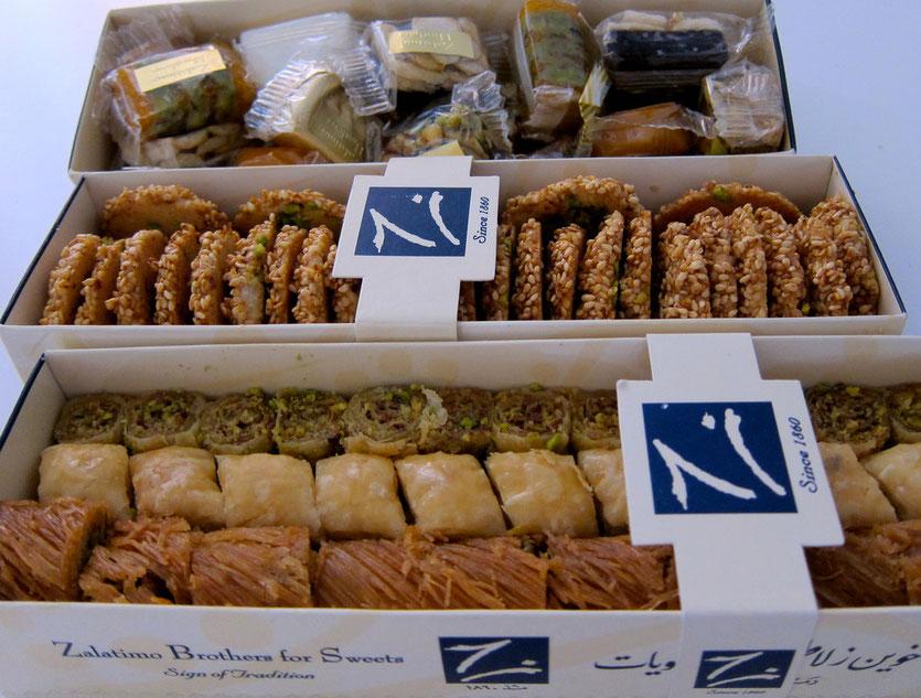 Zalatimo Sweets Jordanien