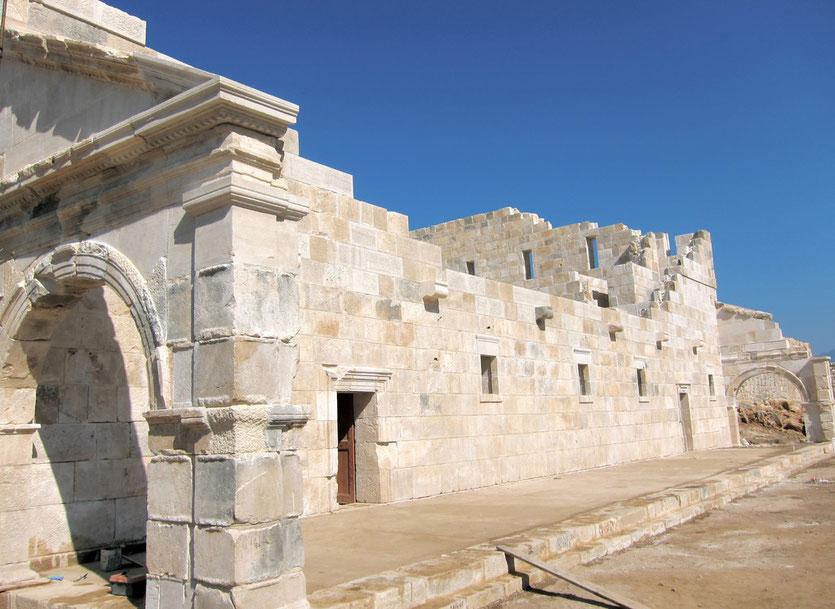 PATARA Bouleuterion, Ausgrabung Türkei