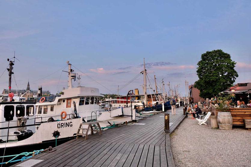 Sundowner Restaurant 'Torpedversktaden' auf Skeppsholmen