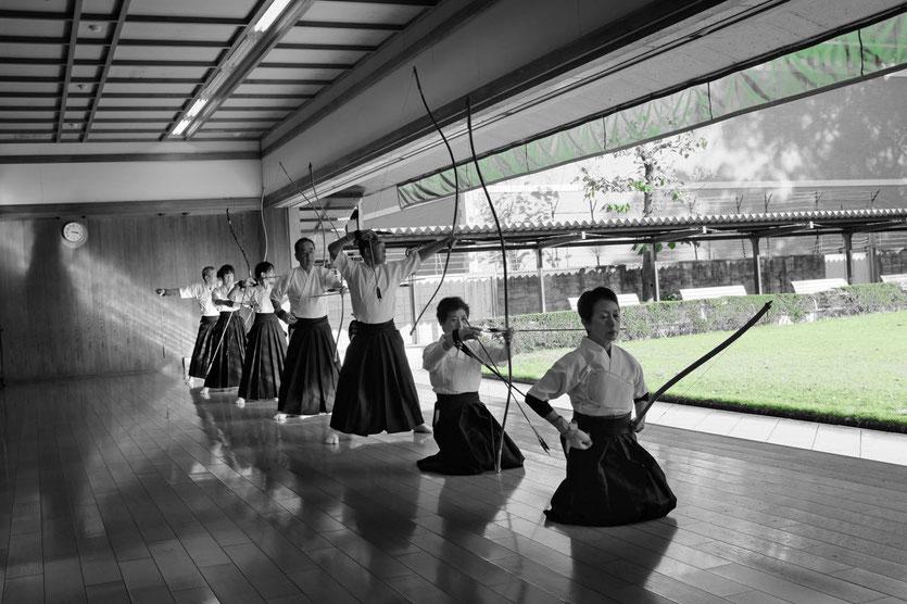 Kyudo Bogenschießen Tipp Sehenswürdigkeit Budo Sportzentrum Kyoto