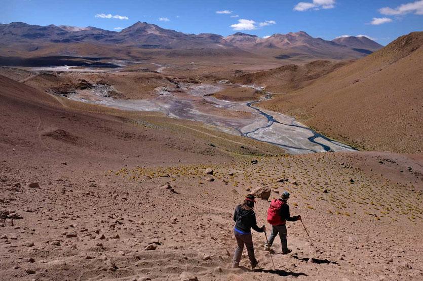 Unvergesslichen Rio Blanco Wanderung Atacama