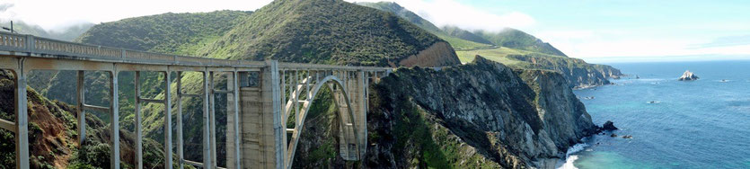 Bixby Bridge, Pafific Coast Highway No 1