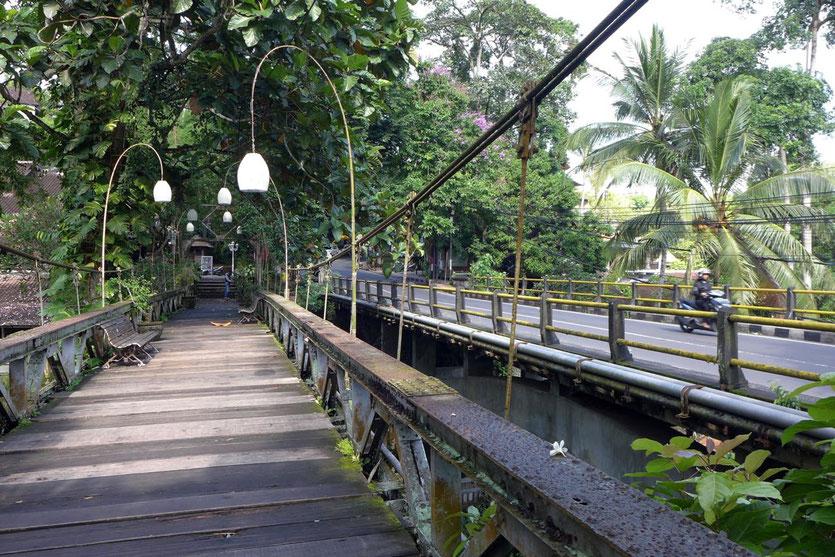 Historische Holzbrücke Ubud Reisetipps Stadttour