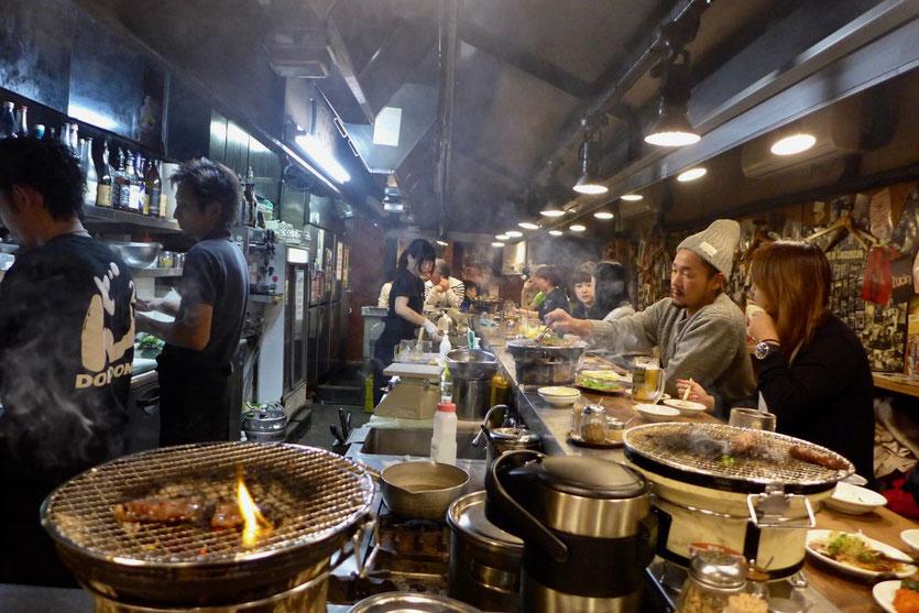 Yakiniku BBQ Kobe grill restaurant Don Don Osaka