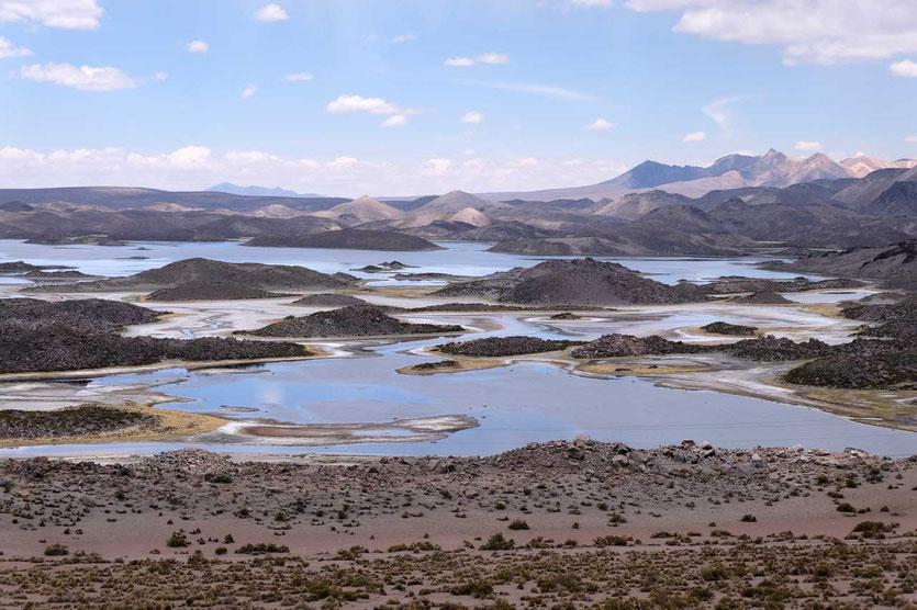 Lagunas de Cotacotani im Lauca Nationalpark Chile