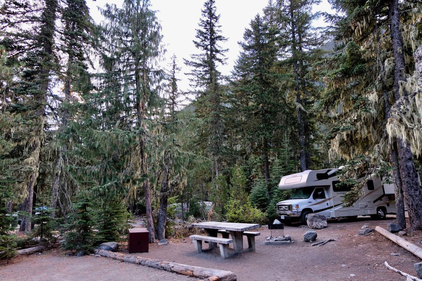 White River Campground - Mt. Rainier National Park