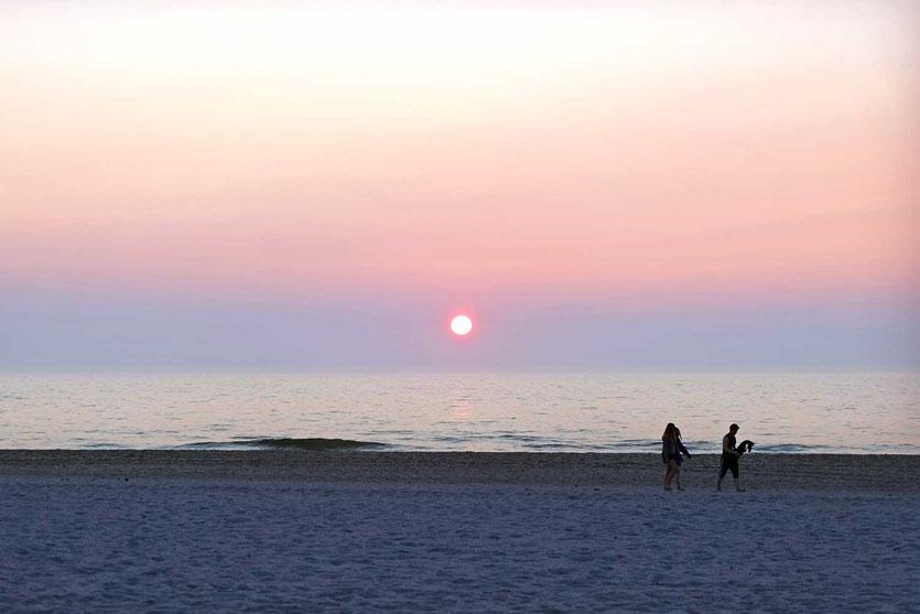 Sylter Sonnenuntergang Reiseblog