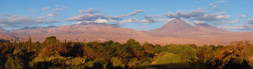 Aussichten Vulkane San Pedro de Atacama explora Hotel