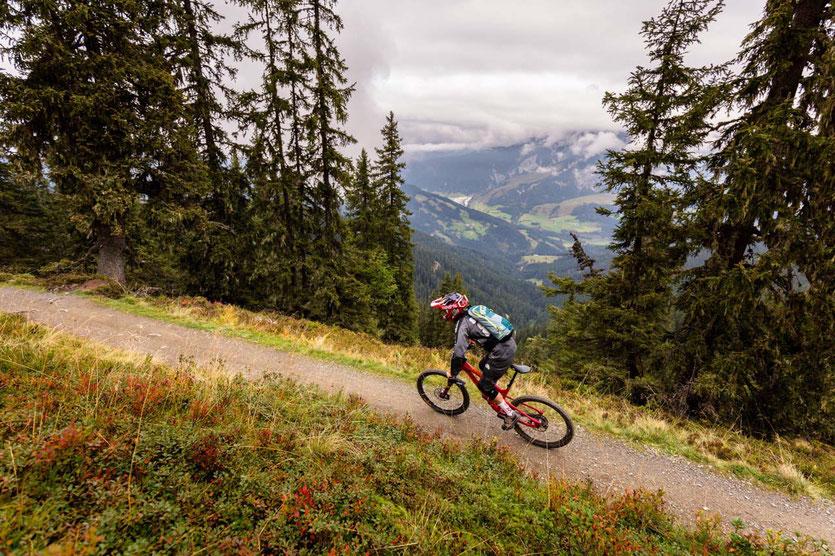 Bikepark Leogang Downhill Trails Österreich