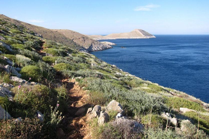 Wanderung Hike Kap Tenaro Mani Peloponnese