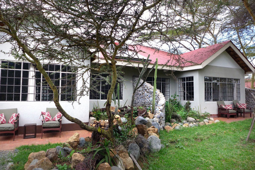 Hatari Lodge Zimmer, rooms, arusha nationalpark, Tansania