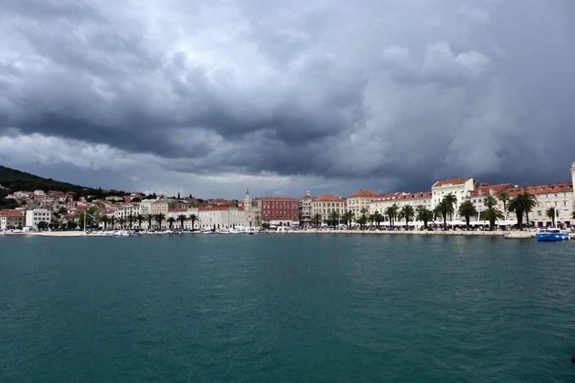 Sehenswürdigkeiten Split Diokletianpalast Kroatien