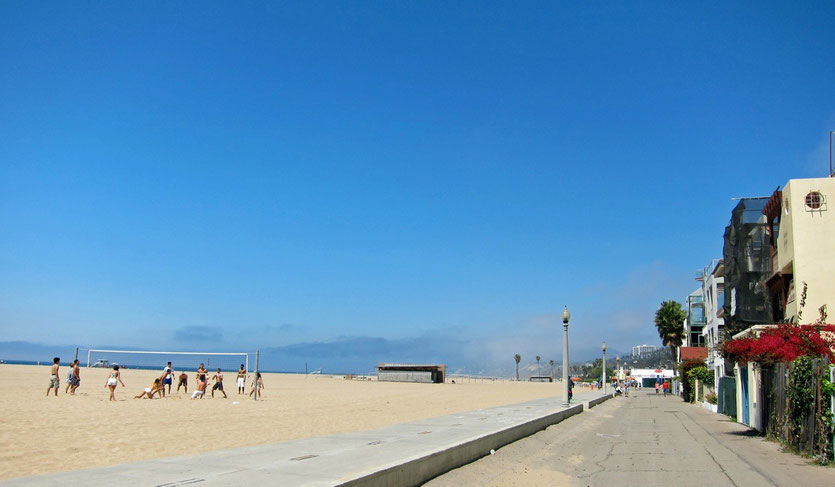 Beachlife in Santa Monica California