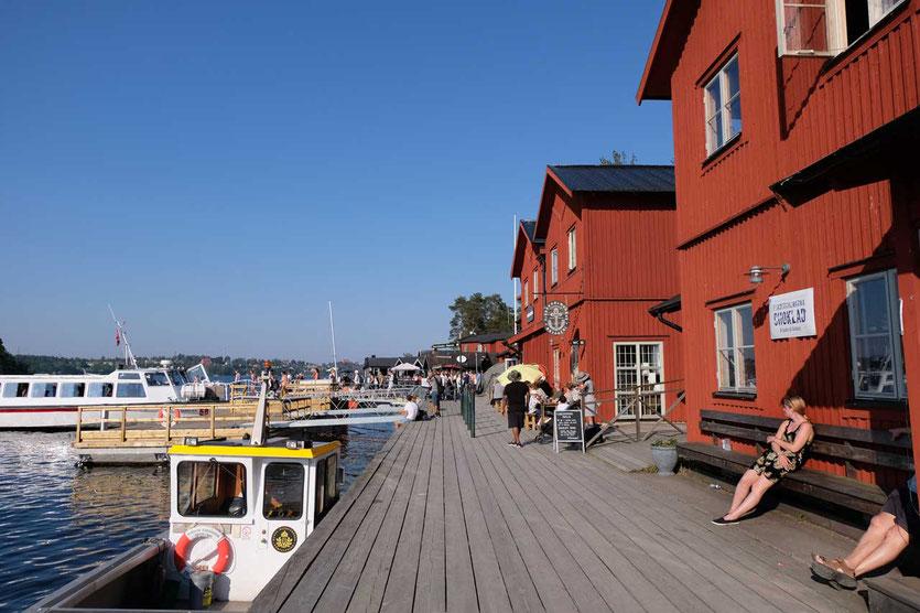 Fjäderholmen Schäreninsel bei Stockholm