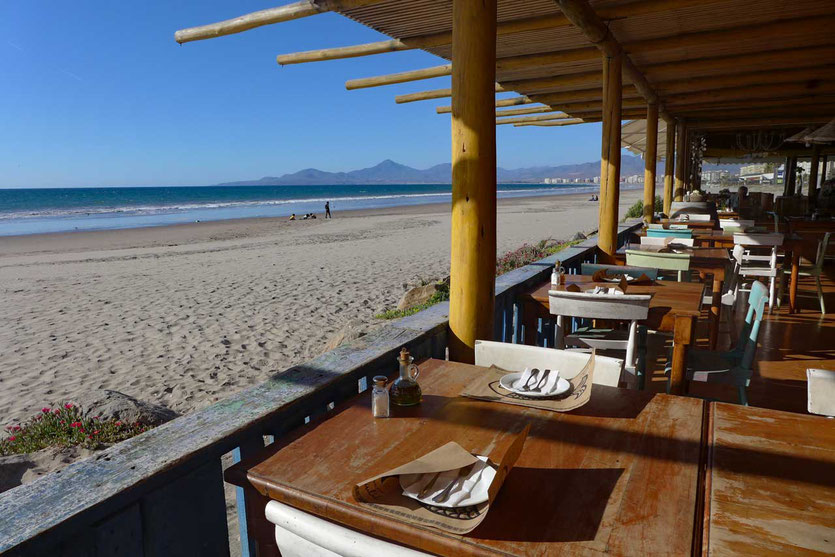 Gut essen am Strand von La Serena, Restaurant Bakulic