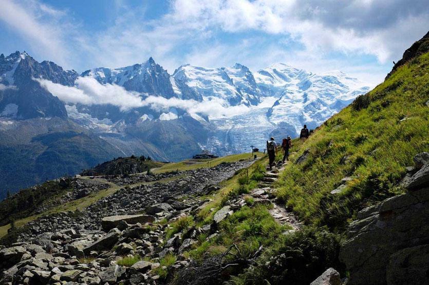 Brévent Bergstation Aiguilles Rouges Grand Balcon Chamonix Mont Blanc