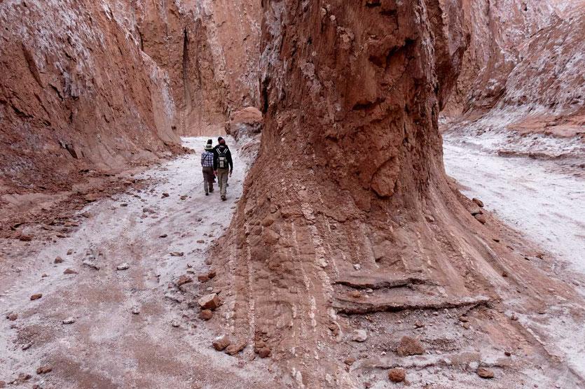 Canyon Wanderung Valle de la Luna San Pedro de Atacama