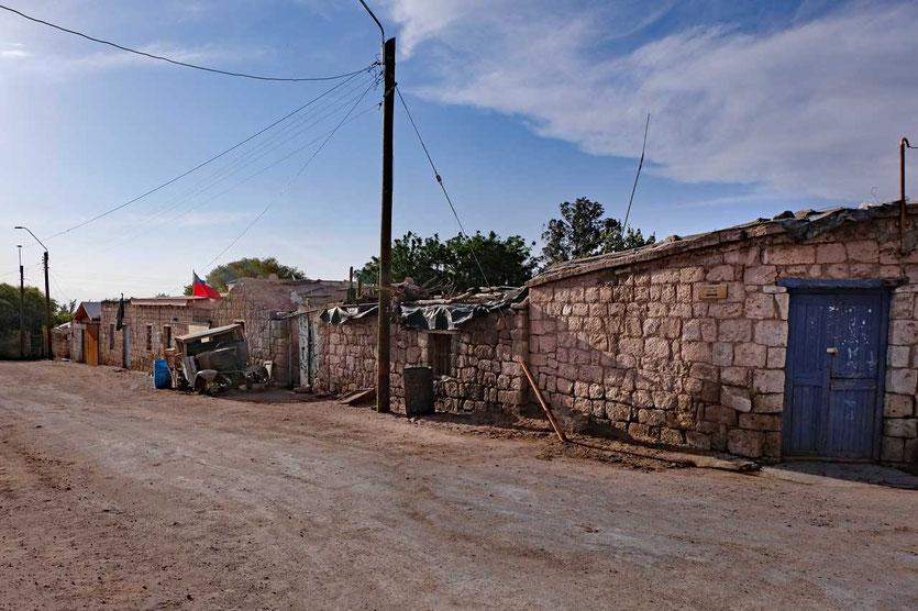 Dorfhäuser Toconao Atacama