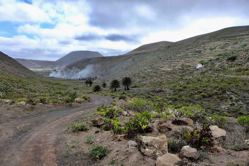 Famara Kliff-Wanderung bei Guinate Lanzarote